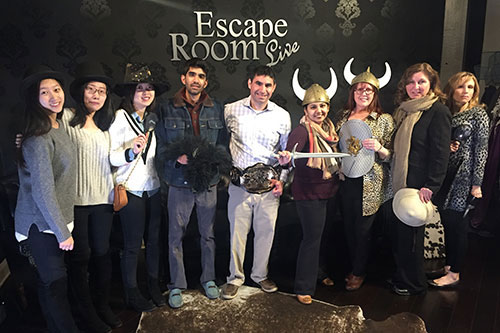 Escape room retreat