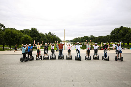 segway tour 2017 retreat