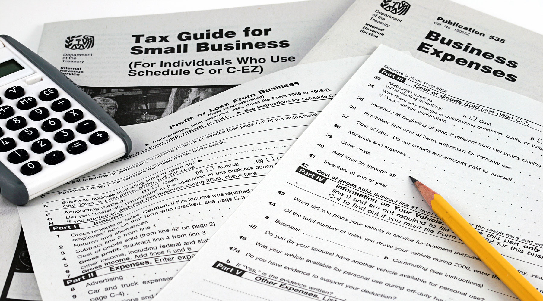 small business tax forms